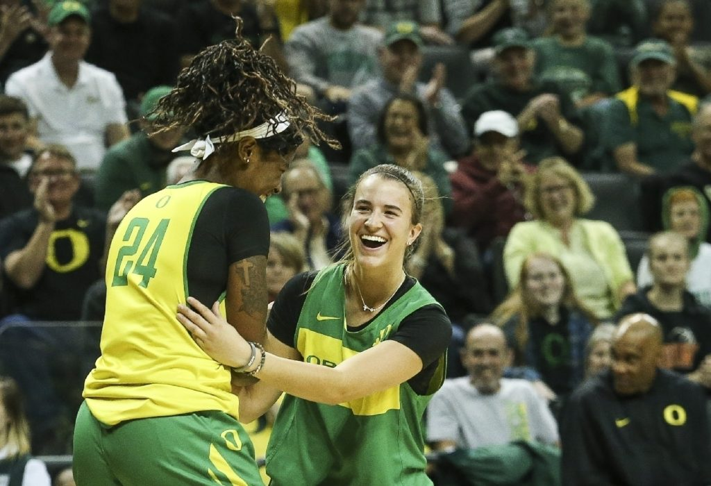 Women's basketball at the University of Oregon