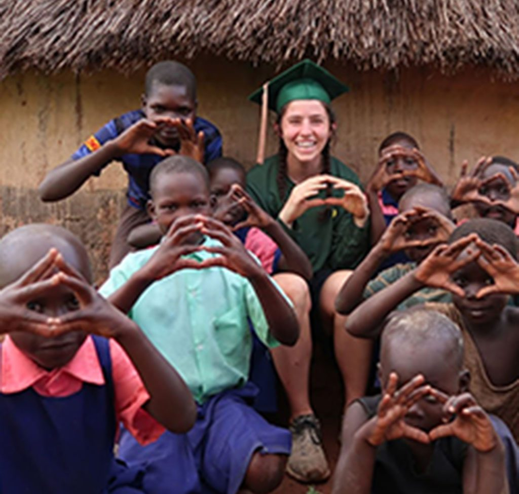 University of Oregon Student-Athletes bringing the O to Africa